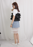 Frill Vest with Tee Set
