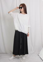 High Waist Pleated Wide Leg Pants