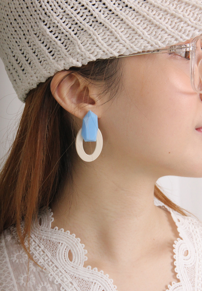 Vintage Style Acrylic Earrings