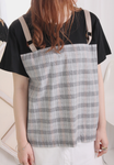 2-In-1 Tartan Mixed Tee