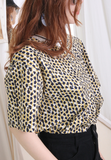Leopard Pattern Top