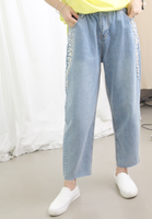 Beaded Jeans