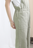 Colour Denim Jumpsuit (2 colours)