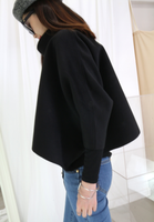 Loose and High Collar Cloak (2 colours)