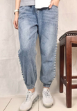 Side Beaded Jeans (pre order)