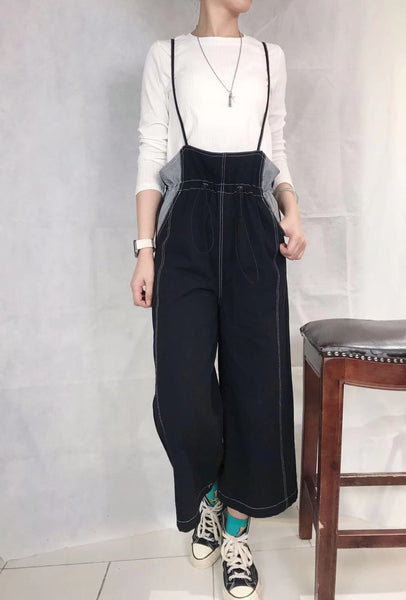Loose Pants with Suspenders Set (pre order)