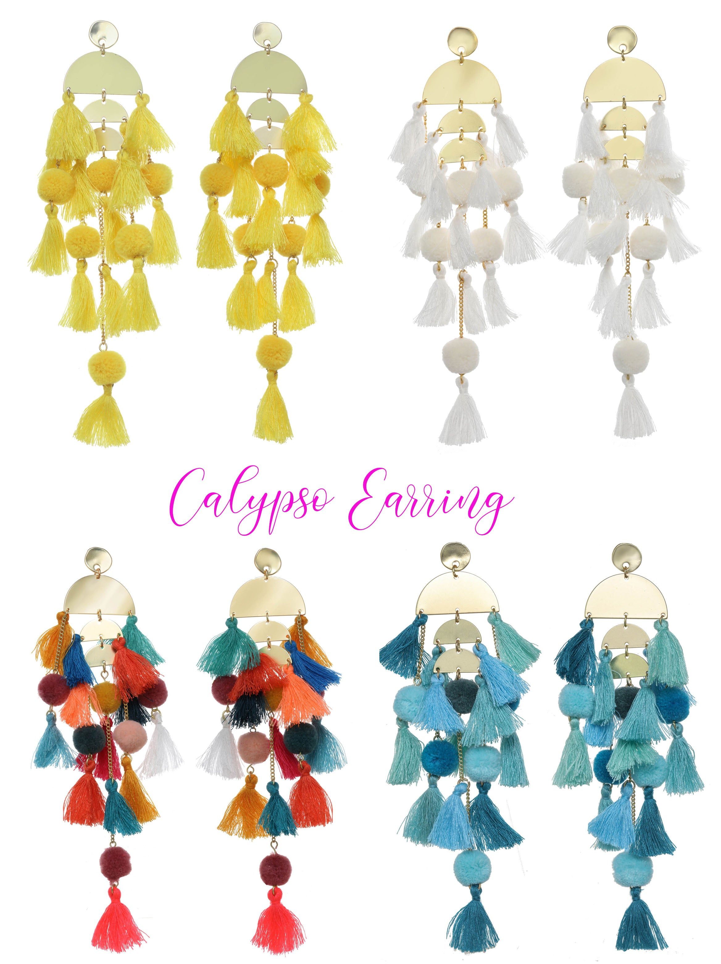 Calypso Earrings By Stella and Ruby