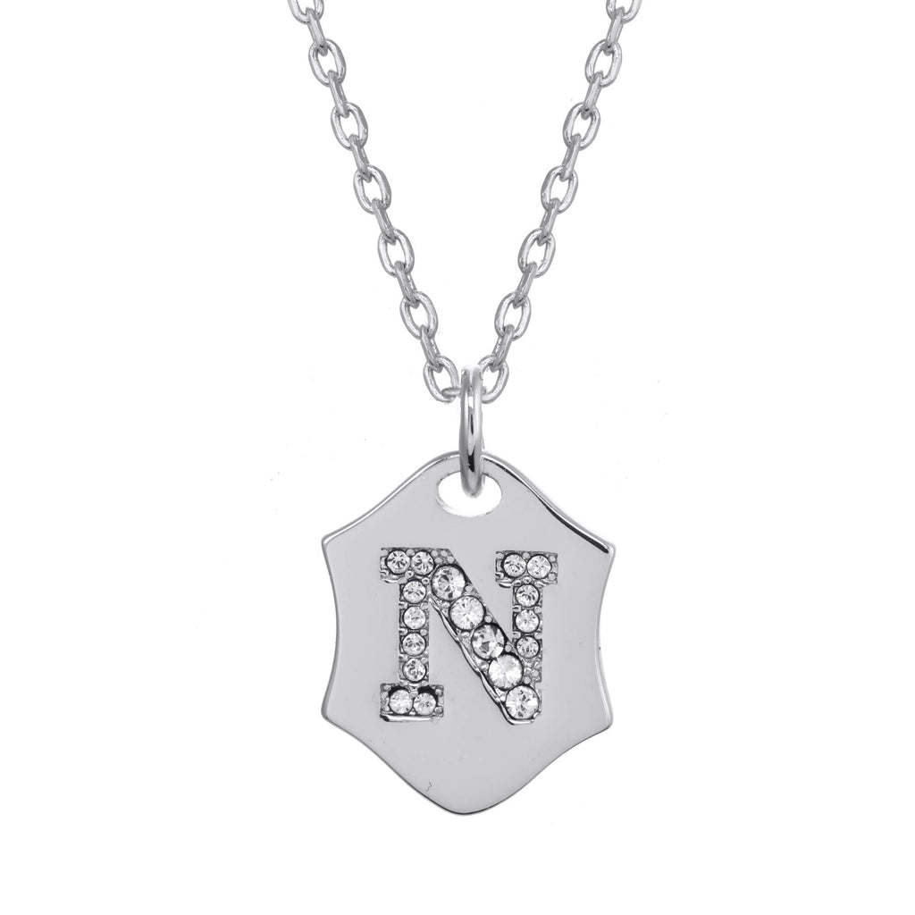 Nom De Plume Necklace Silver