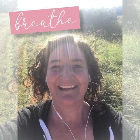 walking outside in the countryside is good for my mental health