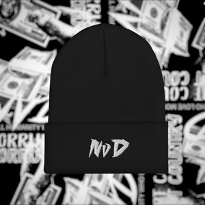 NvD Embroidered Beanie