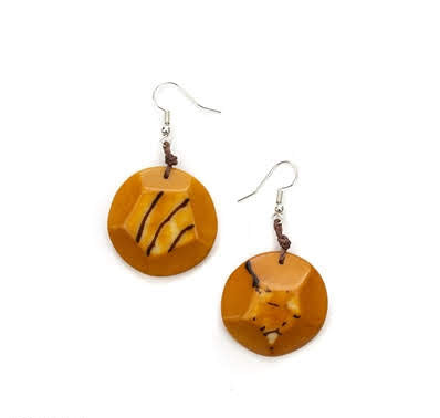 Tagua Nut 100% Organic Earrings