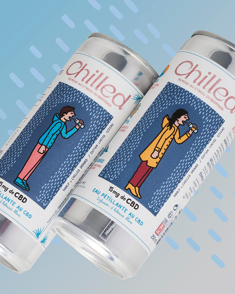 Collaboration #1 – Ivan Pif X Chilled CBD Water