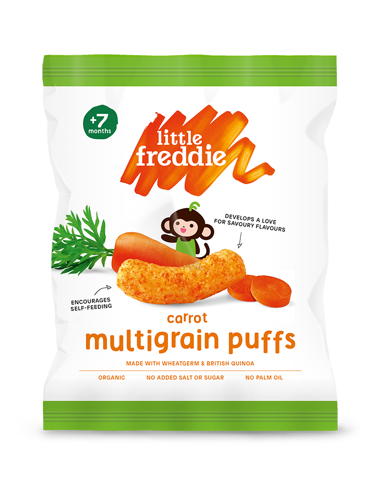 Carrot Multigrain Puffs