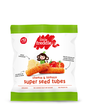 Cheese & Tomato Super Seed Tubes