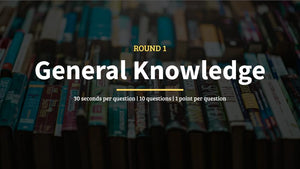 General Knowledge Pub Quiz Questions