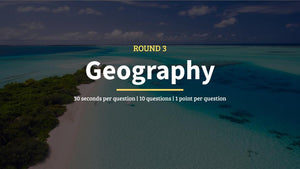 Geography Pub Quiz Questions