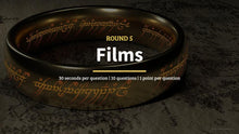 Load image into Gallery viewer, Lord of the Rings Pub Quiz