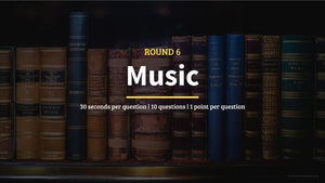 Music Pub Quiz Questions