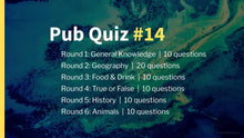 Load image into Gallery viewer, Ready-Made Pub Quiz #14