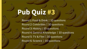 Ready-Made Pub Quiz #3