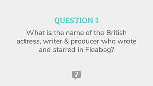 TV & Film Quiz Questions