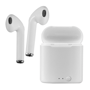 Acellories Acellories BTH550 Dual Mini Bluetooth Earbuds with Charging Case - White