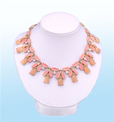 Monarch Statement Necklace, 16 inches