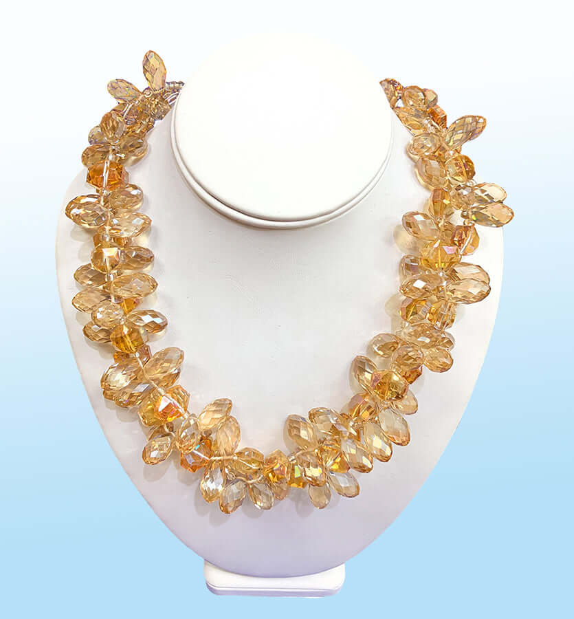 Double-Strand Twist Necklace, 20 inches