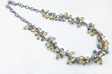 Load image into Gallery viewer, Amica Pearl Crystal Necklace, 18 inches