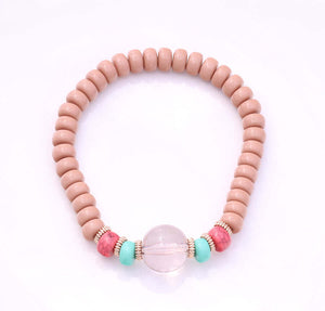 Faithful Hansa Elastic Beaded Bracelet