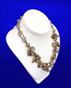 Juliet's Statement Necklace, 20 inches