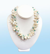 Load image into Gallery viewer, Pearl Torsade Necklace, 20 inches