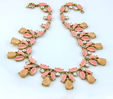 Load image into Gallery viewer, Monarch Statement Necklace, 16 inches