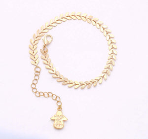 Charm Beads Chain Bracelet, 7 1/2 inches