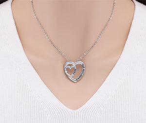 25mm Heart Shaped Pendant Necklace