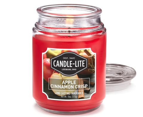 Apple Cinnamon Jar Soy Candle