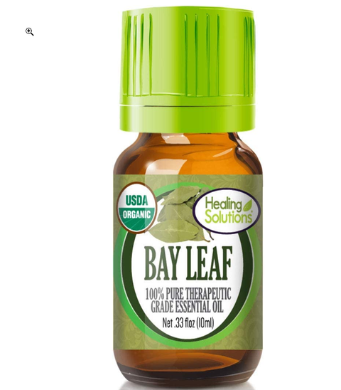Bay Leaf Essential Oil -100% Pure Natural Therapeutic Grade Bayleaf Oil Essential Oils for Aromatherapy Diffuser & Topical Use