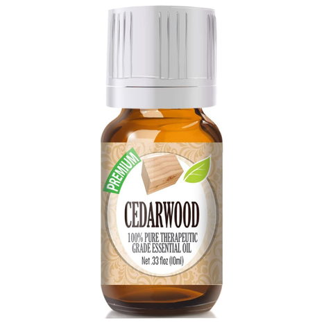 Cedarwood Essential Oil - 100% Pure Therapeutic Grade Cedarwood Oil