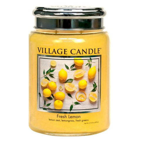 Candles India Fresh Lemons