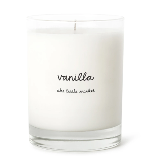 VANILLA SOY CANDLE WITH UP TO 75 HOUR BURN TIME, LARGE JAR