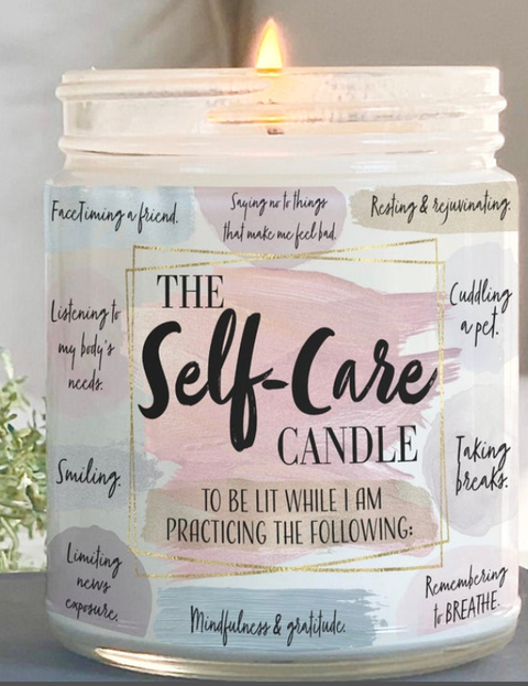 The Self-Care Candle | Essential Oil | Natural Soy Wax India