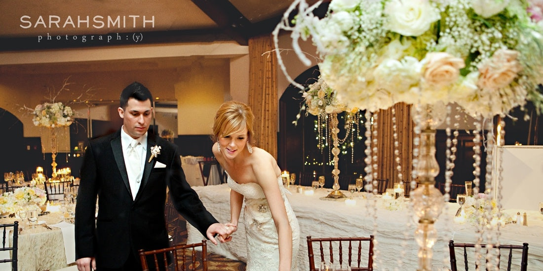Amy & Paul - Winter Wedding At Saratoga National