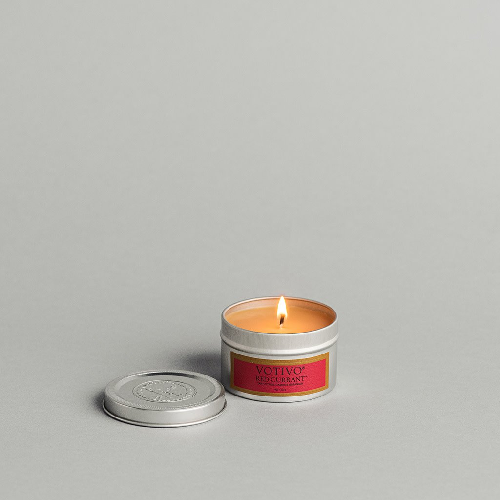 Aromatic Travel Tin Candle-Red Currant