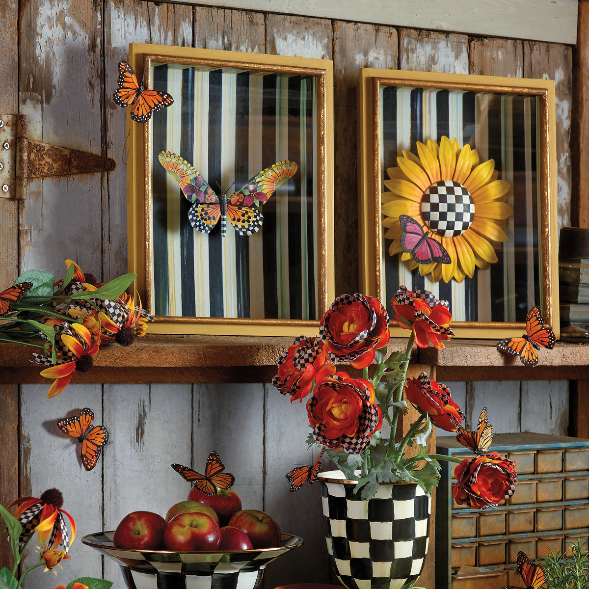Sunflower Shadow Box