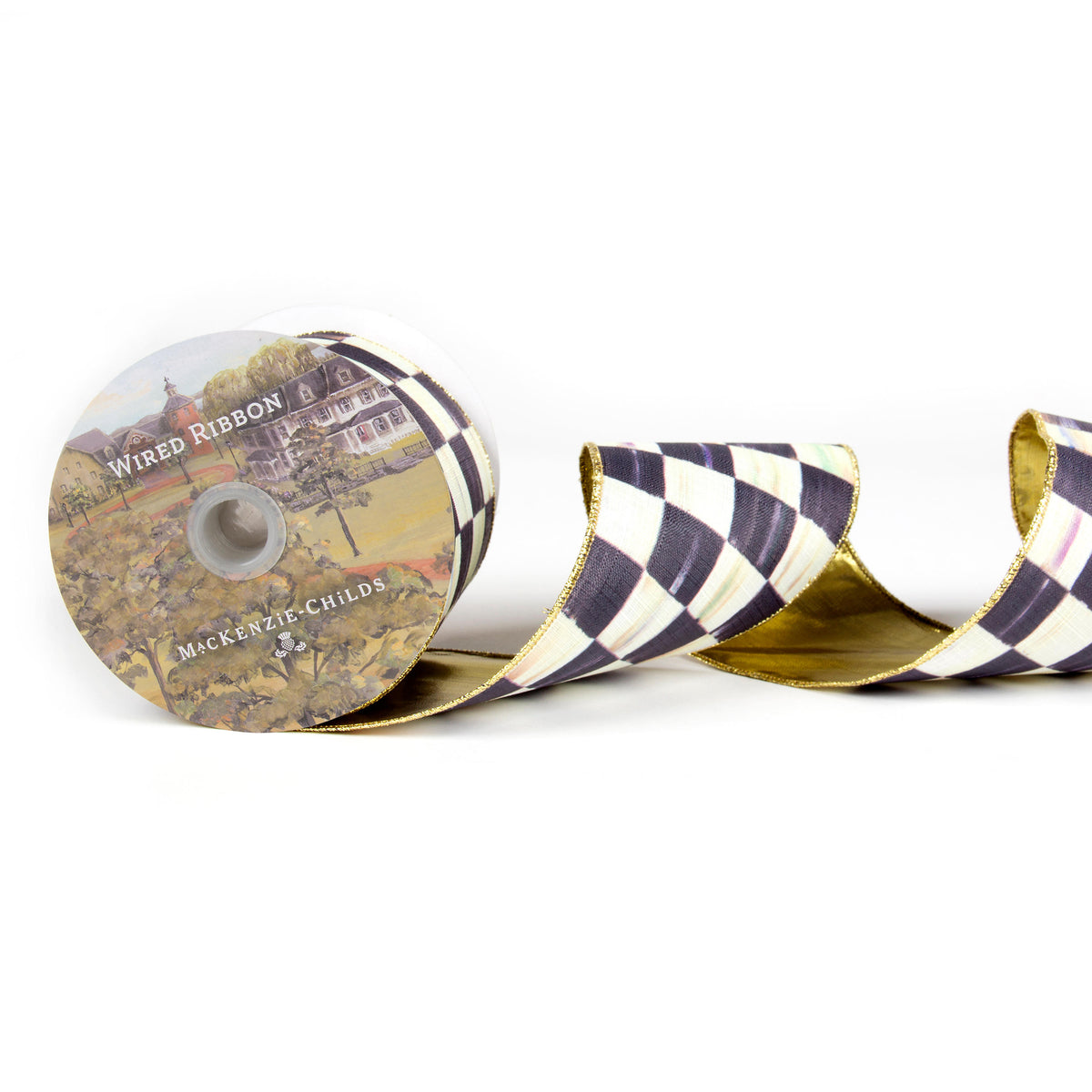 Courtly Check 4(in) Ribbon