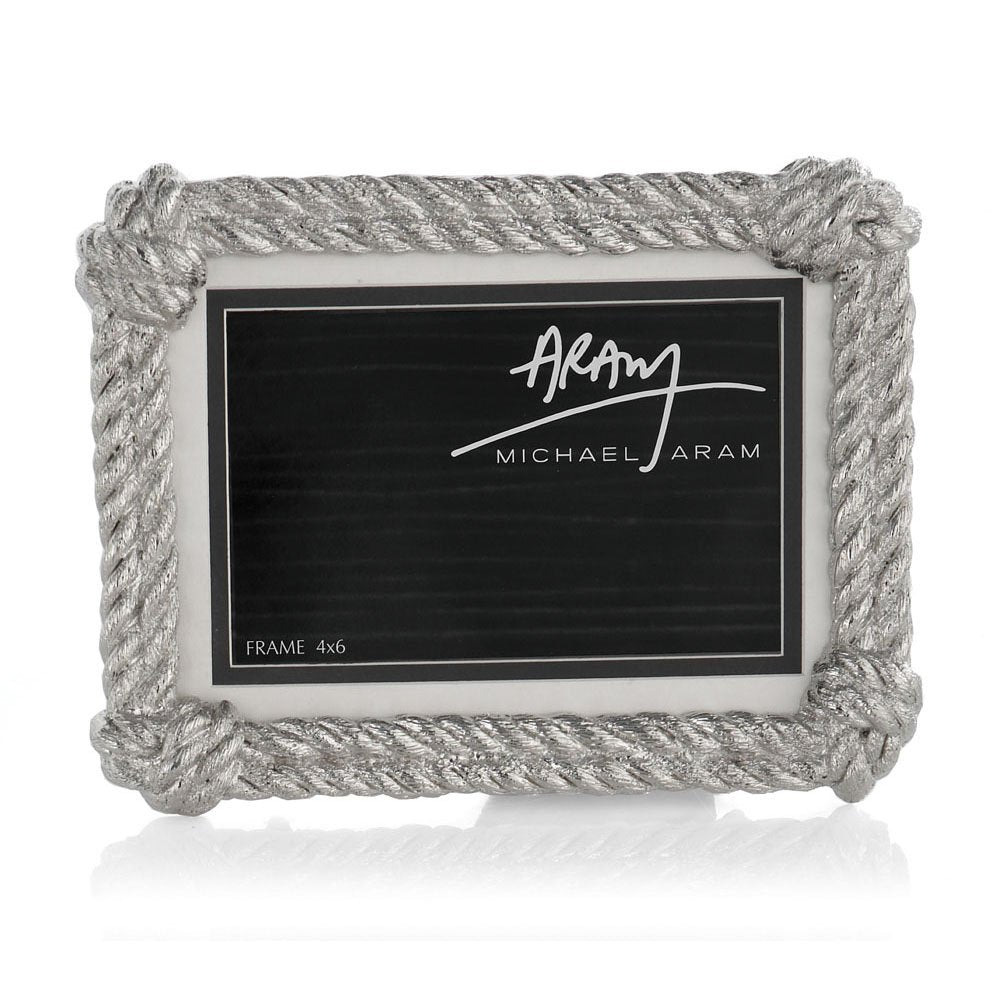 Rope Photo Frame. Convertible 5x7, 4x6