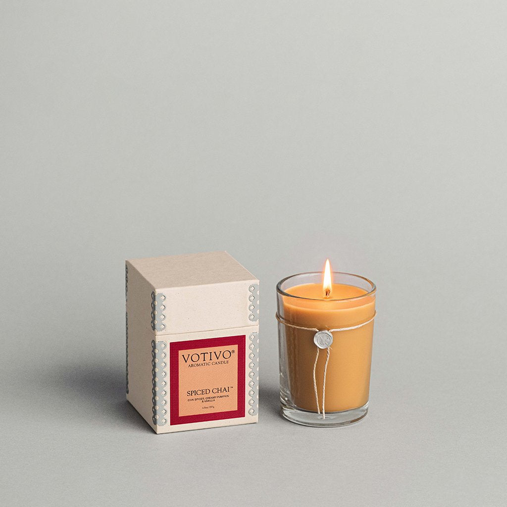 6.8 oz Aromatic Candle Spiced Chai