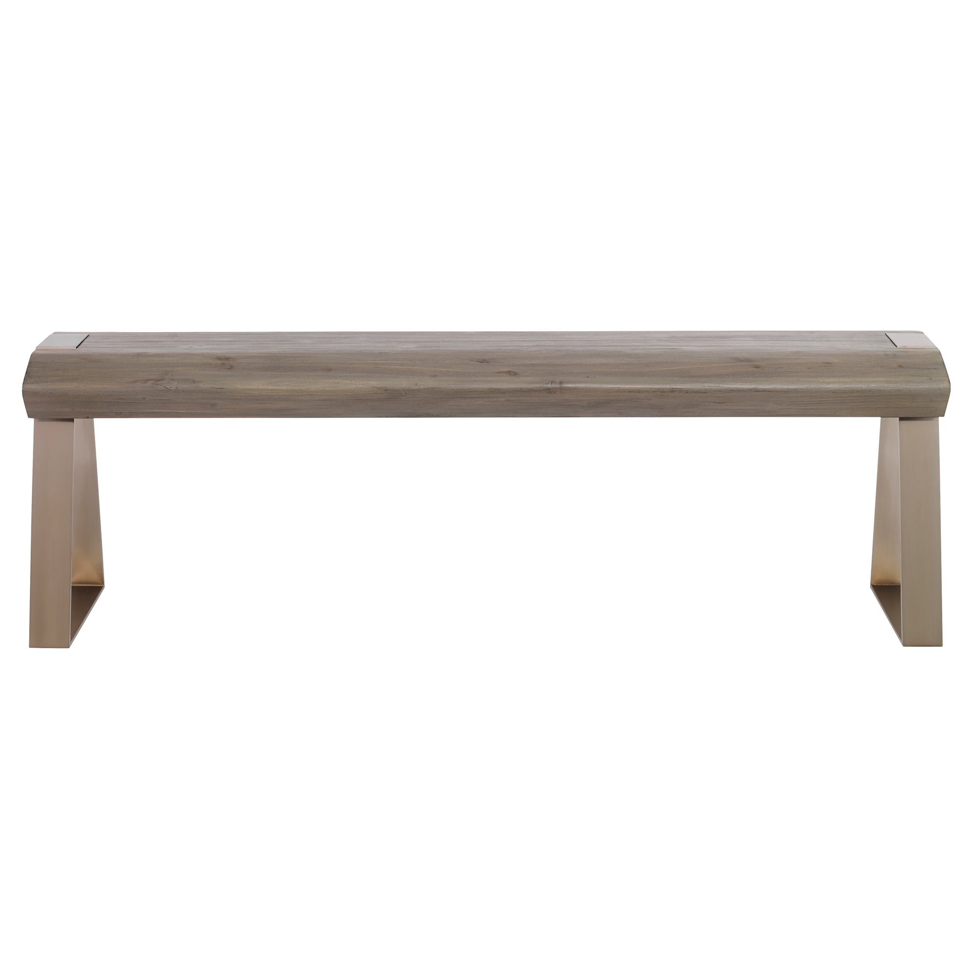Acai Light Gray Bench