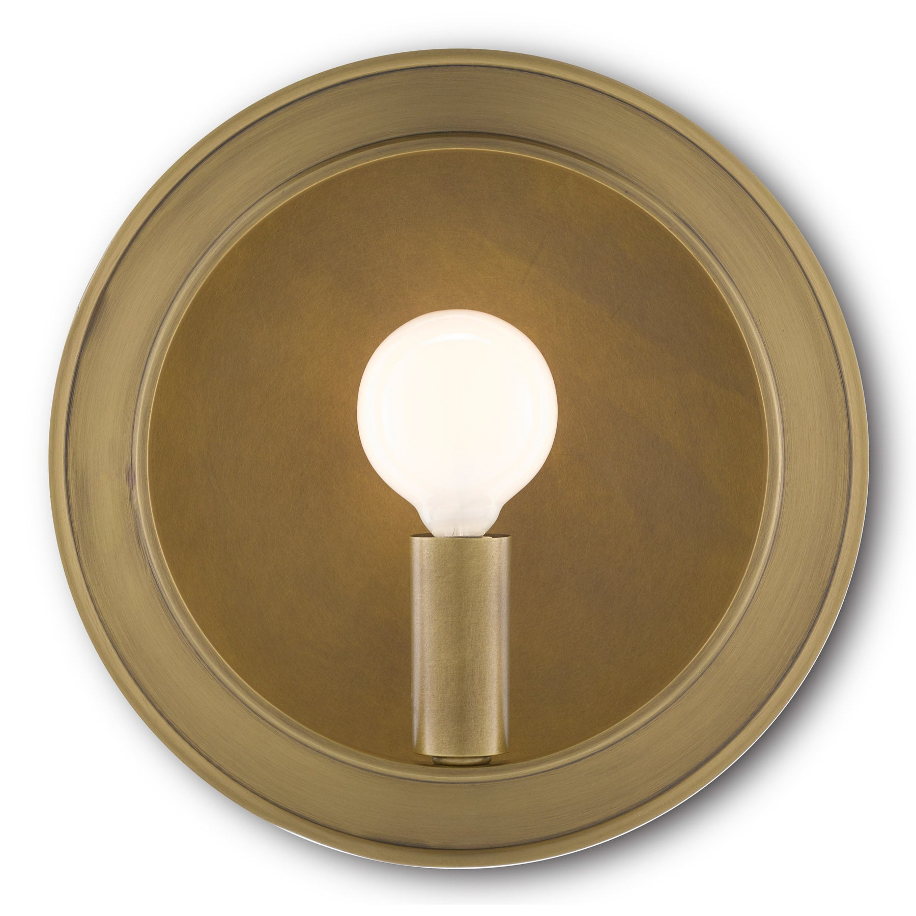 Chaplet Brass Wall Sconce