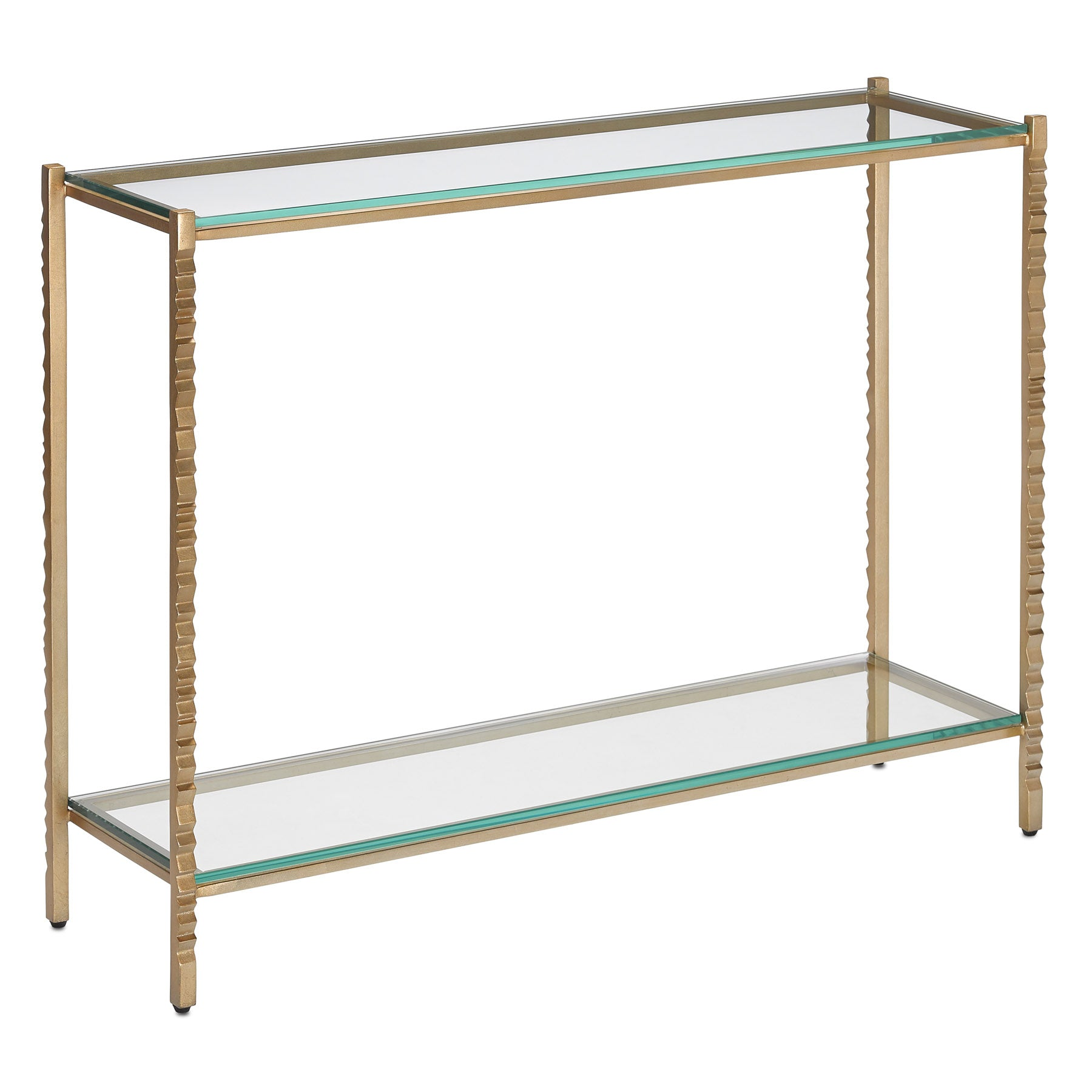 Logan Gold Console Table